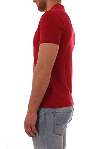Uomo Da Rosso Corta Woolrich Manica Polo Bqw0B1f