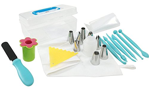 Essentials Of Cake Decorating : Cake Decorating Tools Kit Advanced 26 Piece Set - One of ...