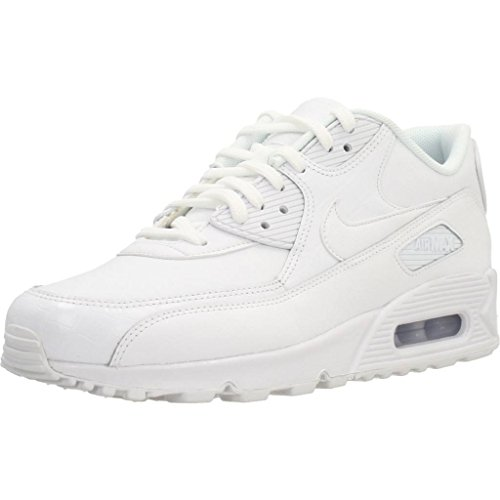 Nike Air Max Damen Wmn 90 Gymnastikschuhe Nero (bianco / Bianco / Bianco 133)