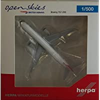Herpa 530019 Vehículo Open Skies (British Airways) Boeing 757 – 200 ""