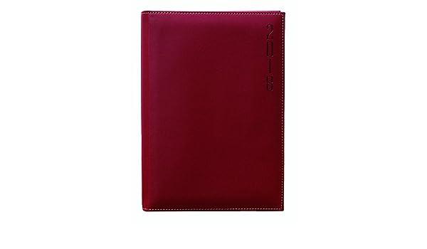 Makro Paper 002507 - Agenda 2018, 170 x 240 mm, color rojo ...