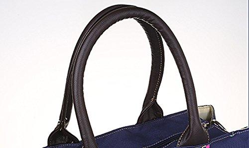 Versión coreana de la bolsa de Mummy, multi-funcional de gran capacidad de hombro bolsa, bolsa de la madre, bolsa de bebé madre, las mujeres embarazadas fuera del paquete ( Color : Verde ) Purple