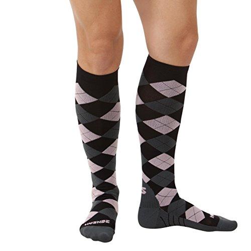 Zensah Argyle Compression Socks product image