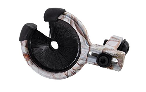 FlyArchery Arrow Rest for Compound Bow Hunting 3 Colors Left and Right Hand are Available. (Snow Camo)