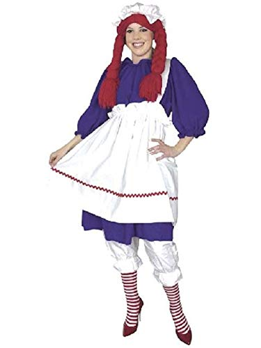 Raggedy Ann Halloween Costume Ideas (Rag Doll Adult Costume - Plus Size)