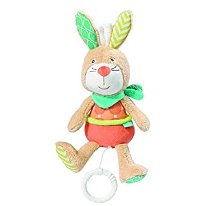 BabySun Funky Friends Mini Mobile Musical Motif Lapin 9