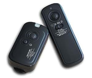 Pixel RW-221/E3 - Disipador inalámbrico con conector E3 para Canon (2.4 GHz, alcance de 100 metros), negro