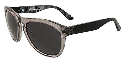 Karl Lagerfeld KL845/S 050 Clear Blac Wayfarer - Sunglasses Karl Lagerfeld