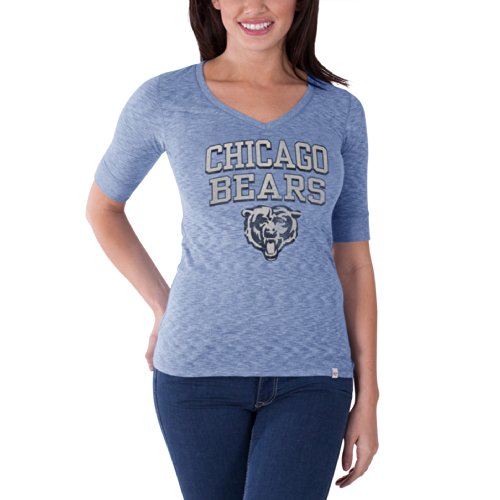 NFL Chicago Bears Women's '47 Brand Roster Tee, Olympic Blue, Medium