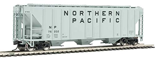 - Walthers HO Scale 54' PS2 4427 Covered Hopper Northern Pacific/NP #76202