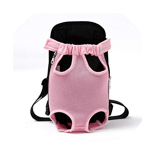 Pet Dog Carrier Backpack Mesh Camouflage Outdoor Travel Products Breathable Shoulder Handle Bags for Small Dog Cats Chihuahua,Pink,L