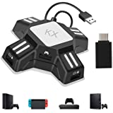 Keyboard Mouse Converter Adapter,Portable USB Gaming Mouse Keyboard Adapter Converter, KX Gamepad Controller Adapter