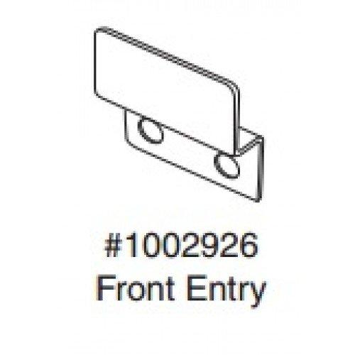 Bobrick 1002926 Keeper For Inswing Door