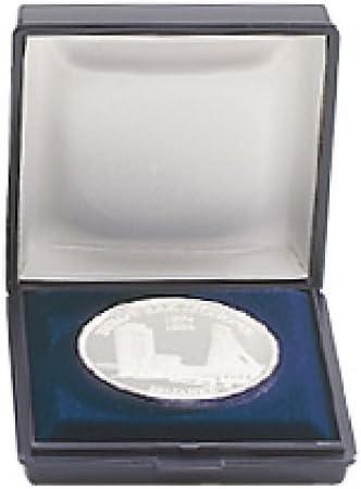 Lindner 2006 - Estuches pequeños para Monedas, para Monedas de Diferentes tamaños. 6 x 6 cm: Amazon.es: Juguetes y juegos