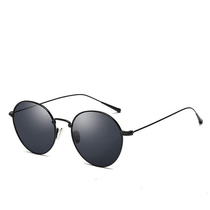 ZHONGYUAN Personalidad de metal retro gafas de sol con ...
