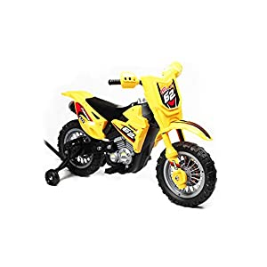 Best Ride On Cars Mini Dirt Bike 6V, Yellow