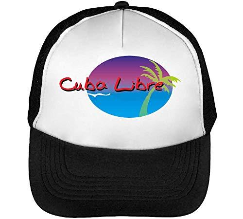 Gorras Blanco Snapback Negro Libre Hombre Cuba Beisbol 5ngOYx1