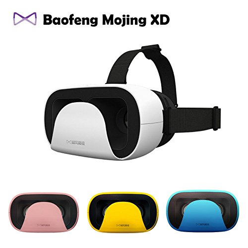 2016 Baofeng Mojing XD 3D VR Glasses Virtual Reality Helmet Cardboard Box for iPhone 6 6S Plus & Android 4.7 - 5.5 6' Smartphone