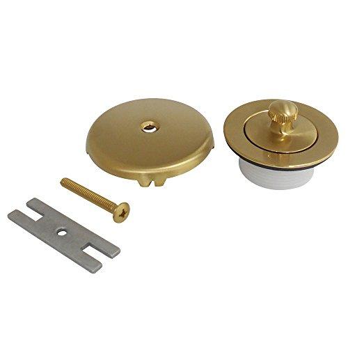 Kingston Brass DLT5301A7 Trimscape Lift and Turn Tub Drain, Satin ()