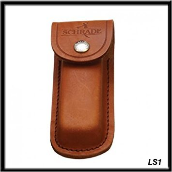 Schrade LS1 Leather Sheath Brown