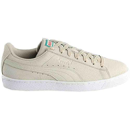 Puma Heren Suede Caribbean Zand Mode Sneakers Berk / Warm Koraal D (m) Ons Berk / Heet Koraal