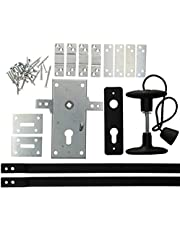KOTARBAU garageslot 60 mm stalen set deurslot garagedeurslot profielcilinder voor kanteldeuren poortschegel deursluiting set deurbeslag