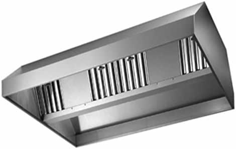 campana extractora Acero inoxidable Central Sin Motor – Dimensiones 340 X 180 X H: Amazon.es: Hogar