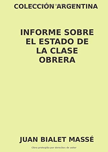 Libro : Colección Argentina. Informe sobre el Estado de la.