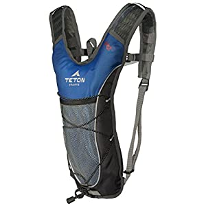 TETON Sports Trailrunner 2 Liter Hydration Backpack Perfect for Biking, Running, Hiking, Climbing, and Hunting; Blue