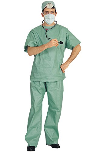Rubies Medical Doctor Scrubs Adult Costume-