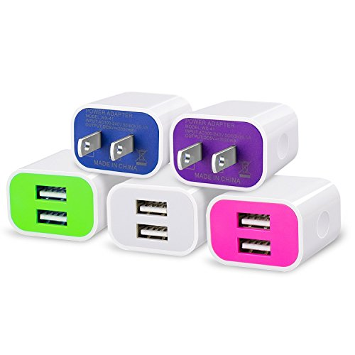 frerush-5-pack-2a-5v-2-usb-port-colorful-wall-travel-home-charger-plug-power-adapter-for-iphone-se-6