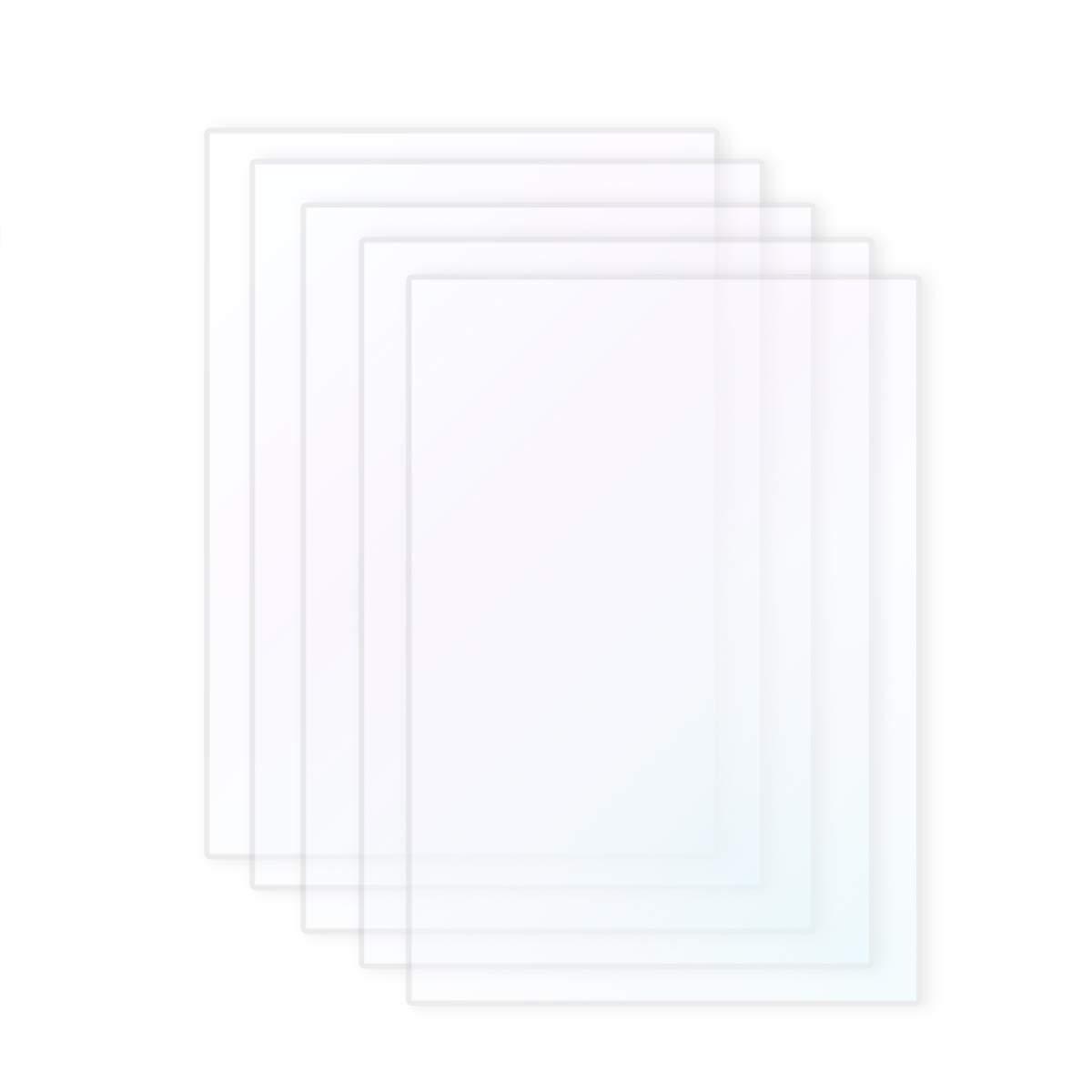 Wisamic 5pcs SLA/LCD à film–Compatible avec Photon imprimante 3d 0,15–0,2mm imprimante 3d filaments, 140* 200mm 15-0 2mm imprimante 3d filaments 140* 200mm