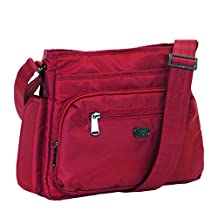 Lug Women's Shimmy Cross Body Bag, Cardinal Red, One Size