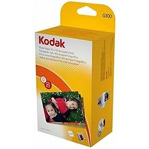 Amazon Kodak G 100 EasyShare Printer Dock Color Cartridge Amp Photo Paper Refill Kit By