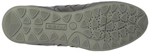 GEOX U RAVEX Chaussures à Lacets Basses Chaussures Gris