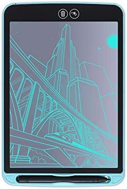 Dmxiezib 8,5 Zoll LCD Elektronische Tablet Teilweise Löschen Teil Löschbar Kinder Studenten Graffiti Malbrett Hersteller Zeichnung Tablet LCD Schreibtafel (blau)