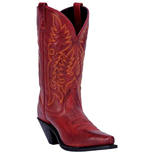 Brown & Red Youth Smoky Mountain Boots Temperate New Western Cowboy
