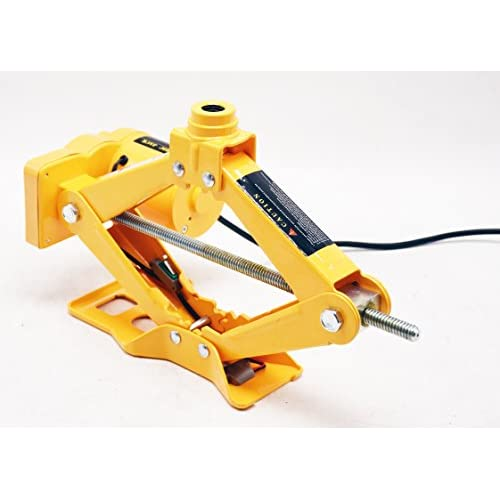 30%OFF 2.5t 12cm de 37cm et 17cm de 42cm Cric électrique avec télécommande sans fil pour voiture Ciseaux Lift avec visseuse à percussion électrique
