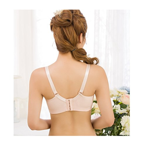 Nude nursing Breathable hole bra anti gathered hexingshan sag underwear a8vqEwad