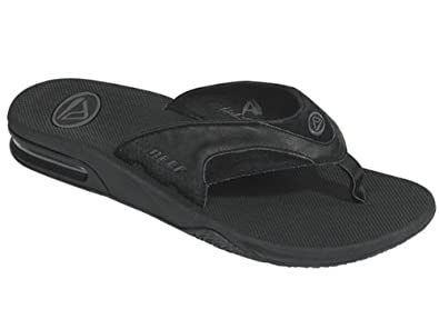 e9d81cddacbf Image Unavailable. Image not available for. Colour  Reef Mens LEATHER FANNING  Flip Flop