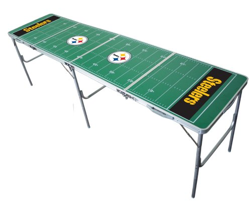 Nfl Tailgate Table - Pittsburgh Steelers 2x8 Tailgate Table by Wild Sports