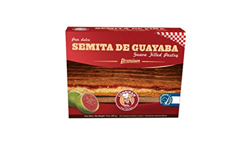 Semita Salvadoreña De Guayaba, Guava Filled Premium Pastry