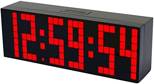 Amazon.com: Chihai 9.6-Inch Big Digital Led Display Board Countdown Function Snooze Alarm Clock(red): Arts, Crafts & Sewing