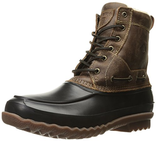 Sperry Top-sider Mens Decoy Shearling Regenlaars Bruin