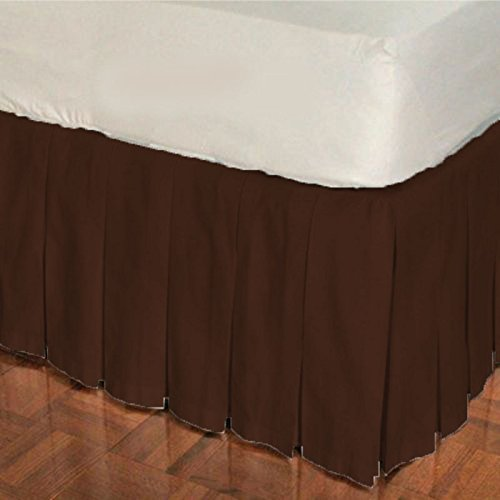 Black,Round Crib Unisex Nursery Baby Bedding Round Crib Multi Pleated Skirt Solid Pattern 500 TC Egyptian Cotton