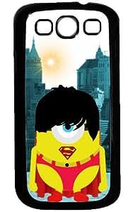 funda rigida Samsung Galaxy S3 minion parody SUPERMAN New york