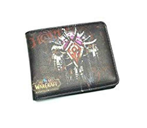 World of Warcraft Horde Crest WOW Bifold Men's Boys Wallet w/Gift Box By Athena