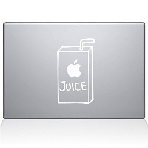 apple juice macbook air decal - 8