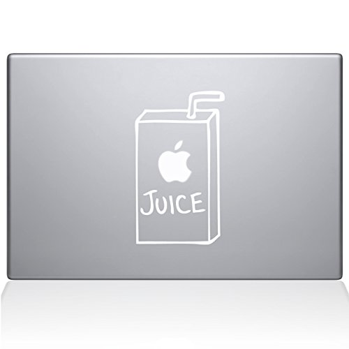 The Decal Guru 1008-MAC-13P-W Apple Juice Vinyl Sticker, 13