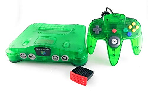 Nintendo 64 System Video Game Console Jungle Green (Renewed)